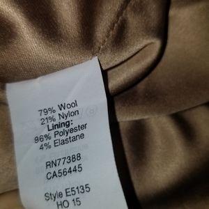 Madewell Skirts - Madewell Front Button Wool Blend Mini Skirt